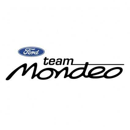 Ford mondeo team