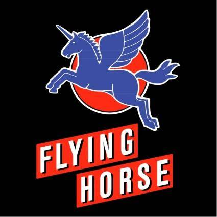 free vector Flying horse