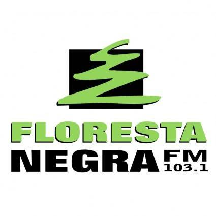 free vector Floresta negra fm