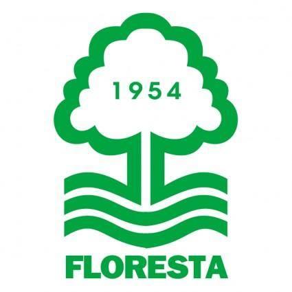 free vector Floresta esporte clube de fortaleza ce