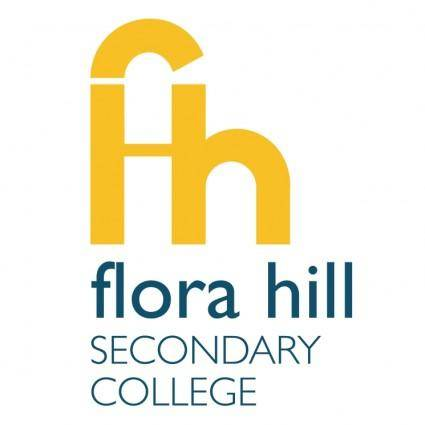 free vector Flora hill secondary college