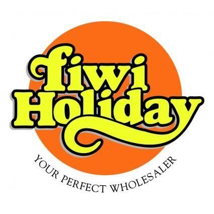 free vector Fiwi holiday