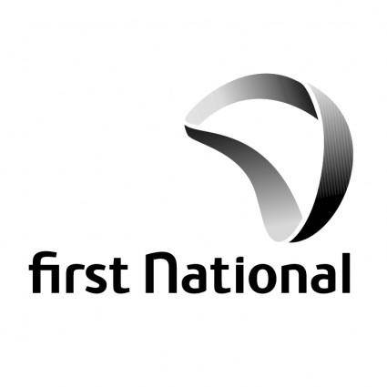 free vector First national