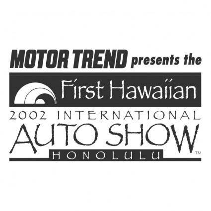 First hawaiian international auto show