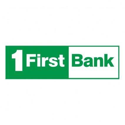 First bank 0