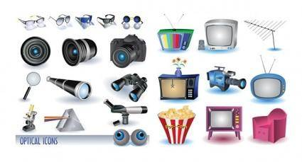 free vector Appliances and cameras vector