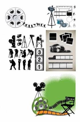 Photographic equipment vector