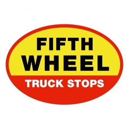 free vector Fifth wheel truck stop