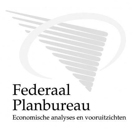free vector Federaal planbureau