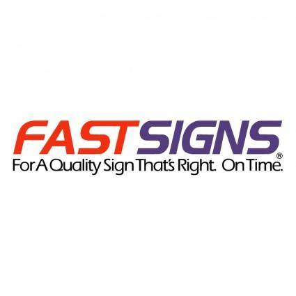 free vector Fastsigns