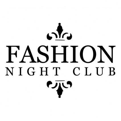 free vector Fashion night club