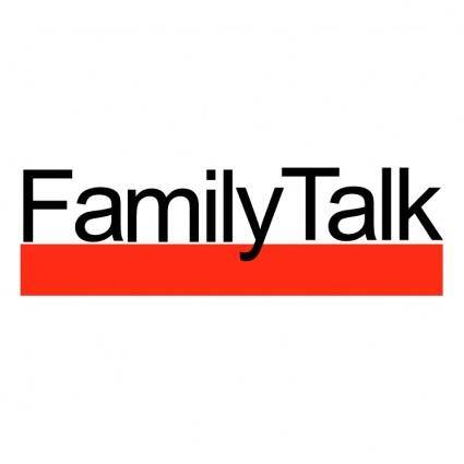 free vector Familytalk