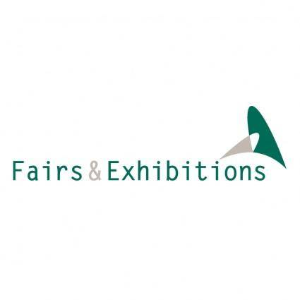 free vector Fairs exhibitions
