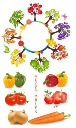 free vector Vegetables vector