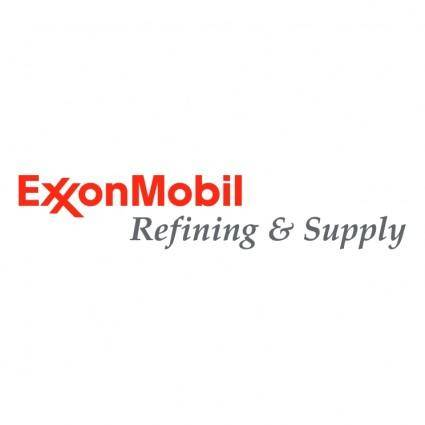 free vector Exxonmobil refining supply