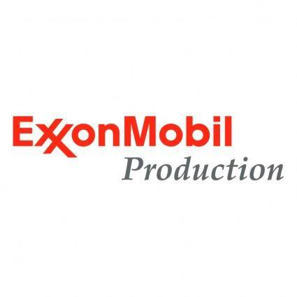 free vector Exxonmobil production