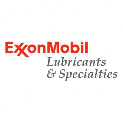 Exxonmobil lubricants specialties