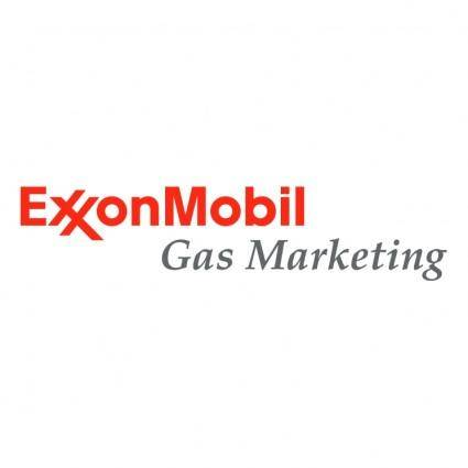 free vector Exxonmobil gas marketing