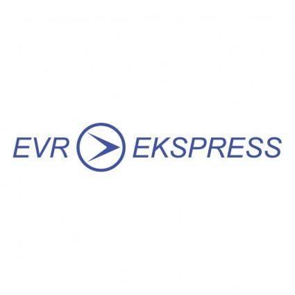 free vector Evr ekspress