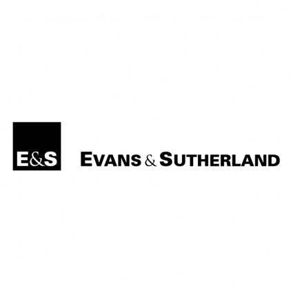 Evans sutherland 1