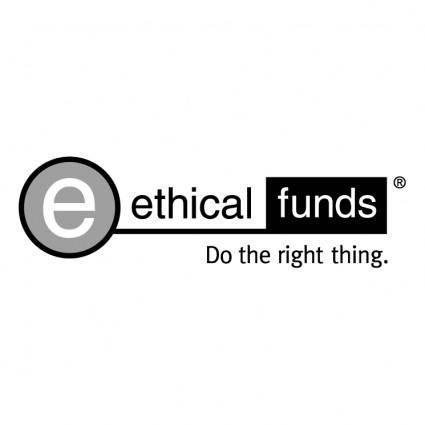 free vector Ethical funds