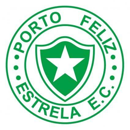 free vector Estrela esporte clube de porto feliz sp