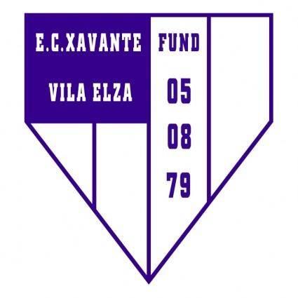 free vector Esporte clube xavante de viamao rs