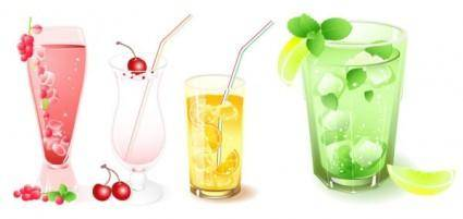 free vector Frozen drink vector