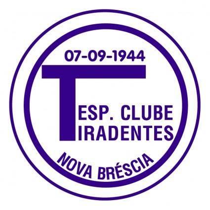 Esporte clube tiradentes de nova brescia rs