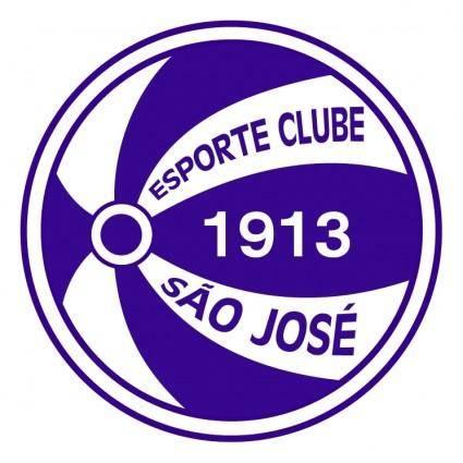 free vector Esporte clube sao jose de porto alegre rs