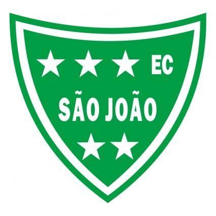 free vector Esporte clube sao joao de sao joao da barra rj