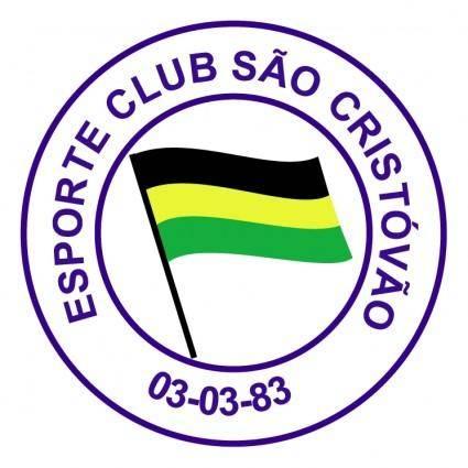 free vector Esporte clube sao cristovao de sao leopoldo rs