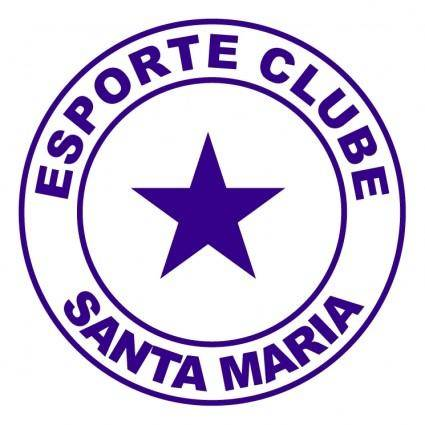 Esporte clube santa maria de laguna sc