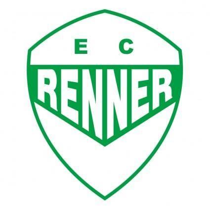 free vector Esporte clube renner de montenegro rs
