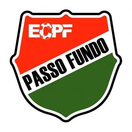 free vector Esporte clube passo fundo de passo fundo rs