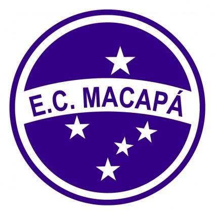 free vector Esporte clube macapa de macapa ap