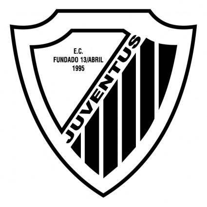 free vector Esporte clube juventus de balneario pinhal rs