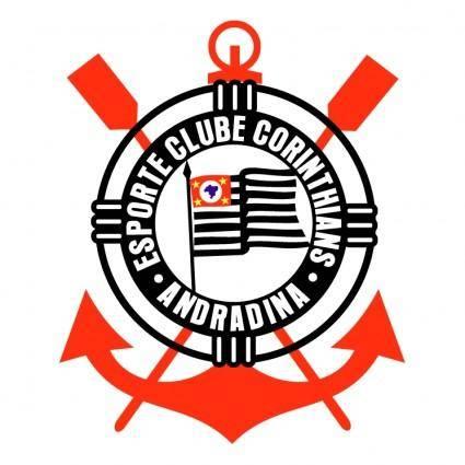 free vector Esporte clube corinthians de andradina sp