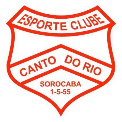free vector Esporte clube canto do rio de sorocaba sp
