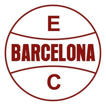 free vector Esporte clube barcelona de sapiranga rs