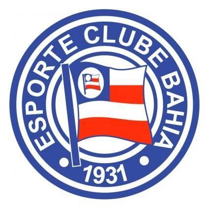 free vector Esporte clube bahia de salvador ba
