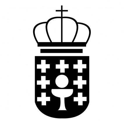free vector Escudio galicia