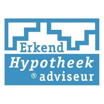 free vector Erkend hypotheek adviseur