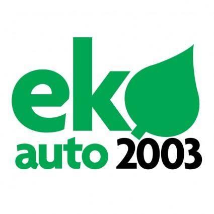 free vector Ekoauto 2003