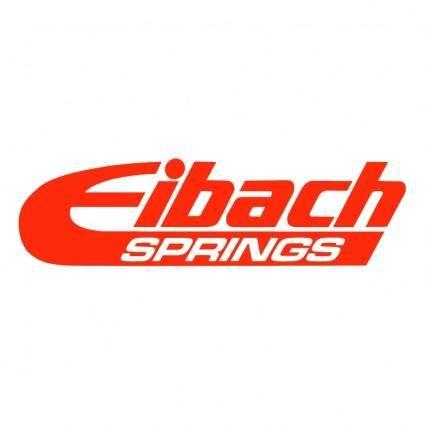 Eibach springs 1