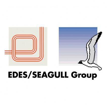 free vector Edes seagull group