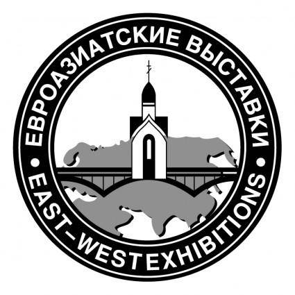 free vector East west exhibitions