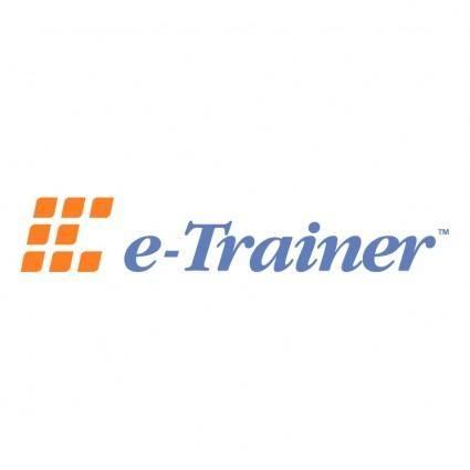 E trainer