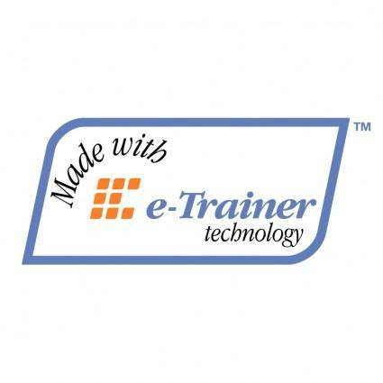 free vector E trainer technology