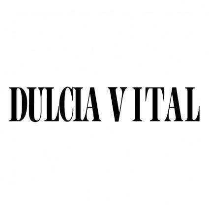 free vector Dulcia vital